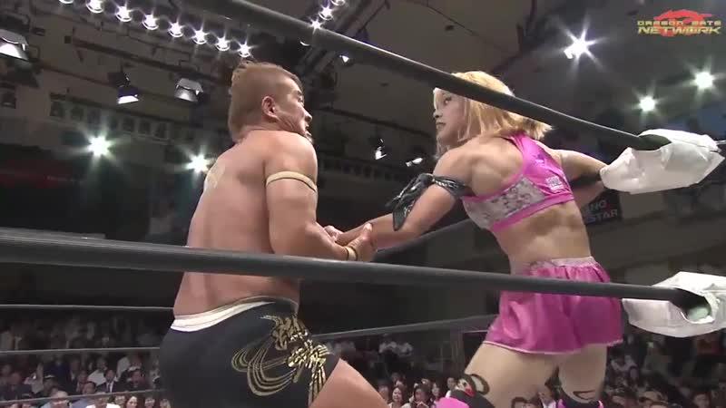 Hyo Watanabe Masaaki Mochizuki Shun Skywalker Yuki Yoshioka vs KAGETORA U T YAMATO Yosuke Santa Maria Dragon Gate