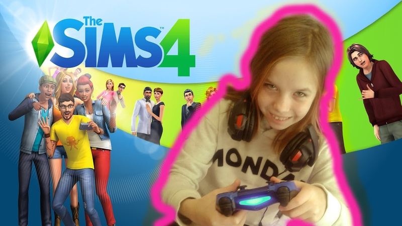 Играем Sims4 ONLINE создаем персонажа
