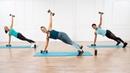 Allie Cohen - 15-Minute Arms of Steel Workout | Интервальная тренировка для рук и плеч