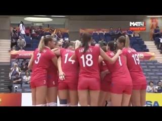 Котикова, матч-пойнт. RUSSIA vs KOREA FIVB Women World Championship 2018