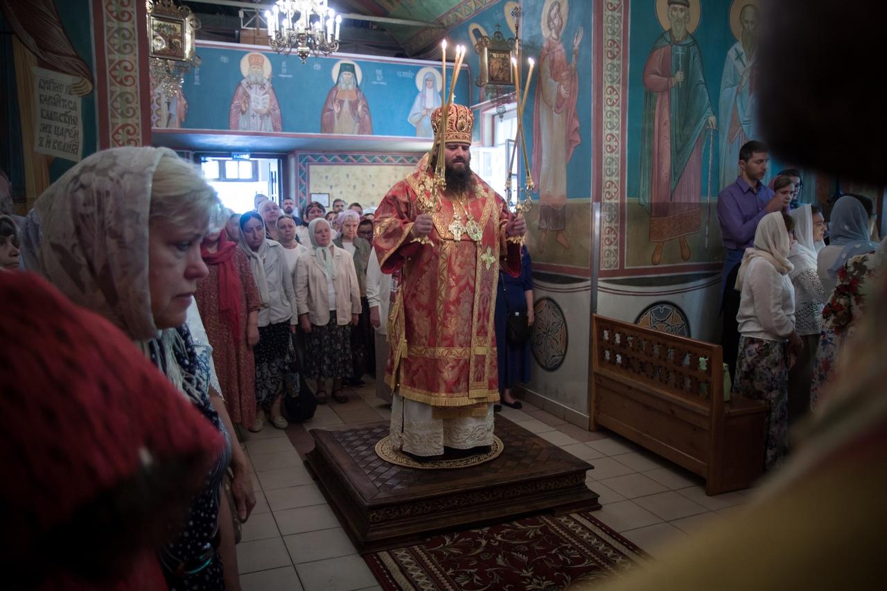 Престольный праздник в храме святых Космы и Дамиана в Космодемьянском