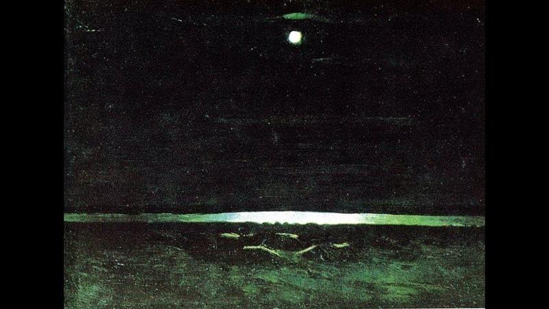 В музей - без поводка / Архип Куинджи Лунная ночь на Днепре
