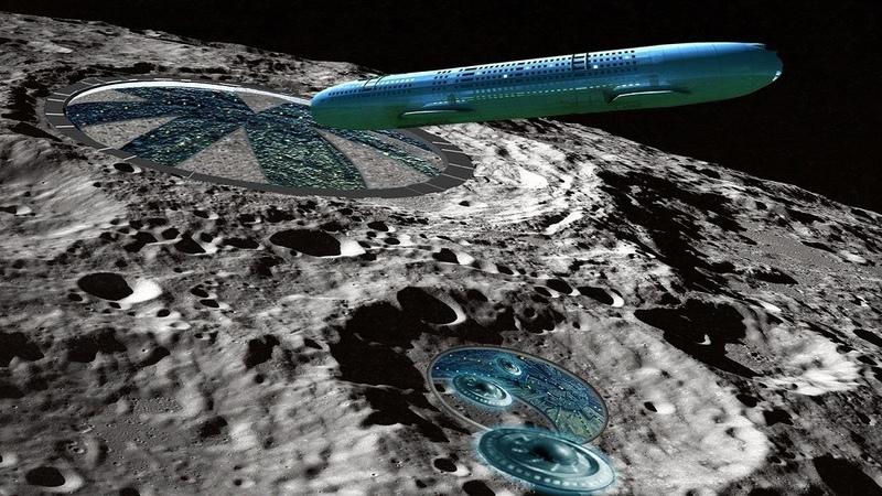 Летающий вокруг Луны огромный НЛО наводит ужас на космонавтов Тайны космоса секреты Земли