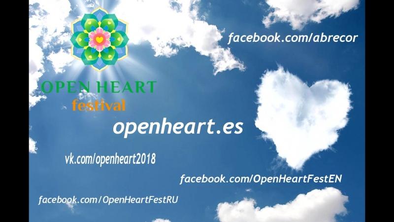 Приглашение на Хороводы Мира на фестивале Открытое Сердце в Испании