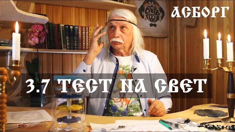 3 7 ТЕСТ На СВЕТ Александр Тюрин в АсБорге