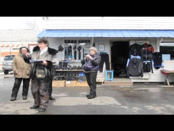 Кировский Приморского края. Ахамевшие с подачи местной власти торгаши наглеют и хамят.