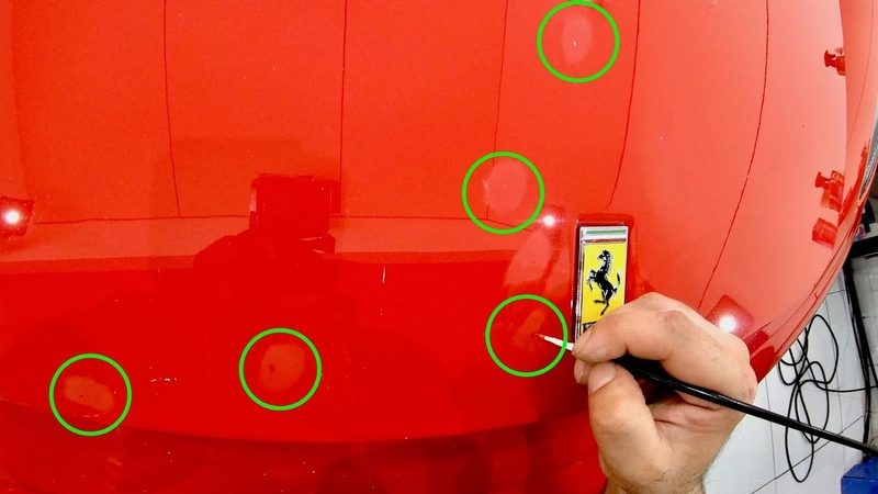 How To Correctly Paint Touch-Up Stone Chips On Your Car To Get The Best Results!