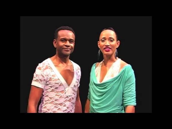 Kompa dance lesson- 2 - Right left turn - Vire a dwat ak goch - Tour a droite et a gauche
