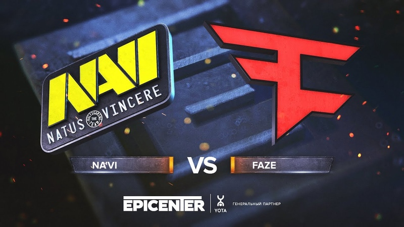 NaVi vs. FaZe - EPICENTER 2018 Grand-final - map1 - de_mirage [Enkanis, CrystalMay]