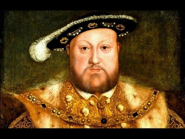 Король Англии Генрих VIII Тюдор
