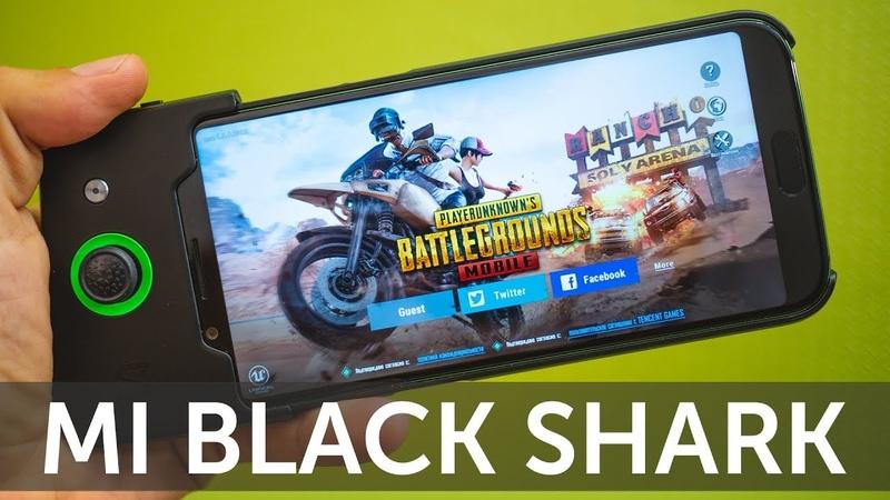 Обзор Xiaomi Black Shark 6GB 64GB и отзыв владельца (Black Shark Review)