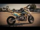 Огляд дитячого мотоцикла пітбайку Geon X-ride 110 mini cross