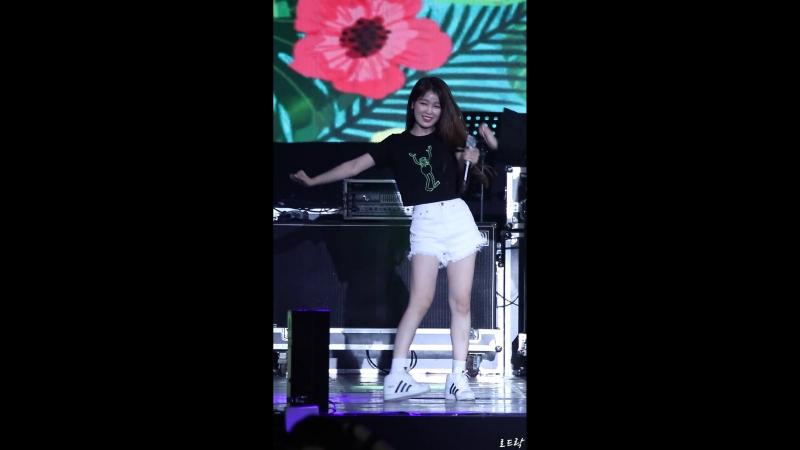 · Fancam · 180811 · OH MY GIRL Seunghee focus A ing · KIMA WEEK 2018 ·