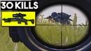 FULL AUTO MK14 8x SCOPE OP 30 KILLS Duo vs SQUADS PUBG Mobile
