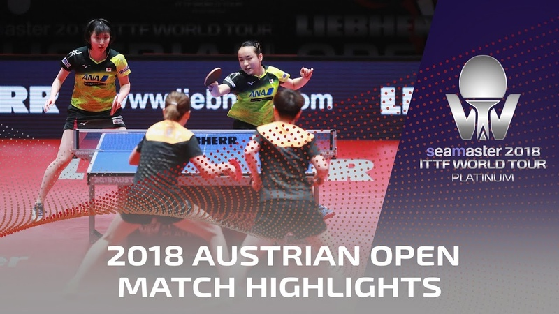 Mima ItoHina Hayata vs Sun YingshaChen Xingtong I 2018 ITTF Austrian Open Highlights (Final)