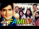 Rajesh Khanna Family With Parents, Wife, Daughter and Grandchild Photos