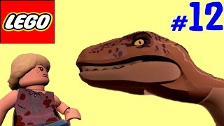 🐈 ЛЕГО мультик ИГРА про динозавров Парк юрского периода [12] Велоцирапторы. Факты об Аллозаврах