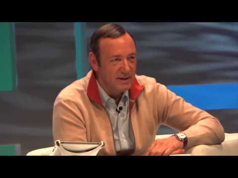 Kevin Spacey - an akward question - GEITF 2013