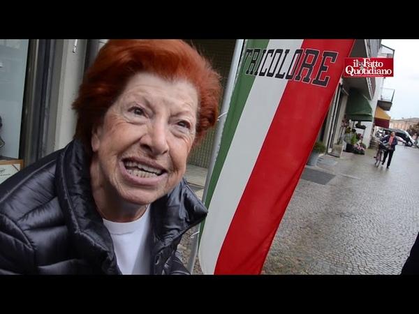 Predappio saluti romani e inni al Duce Votiamo Salvini