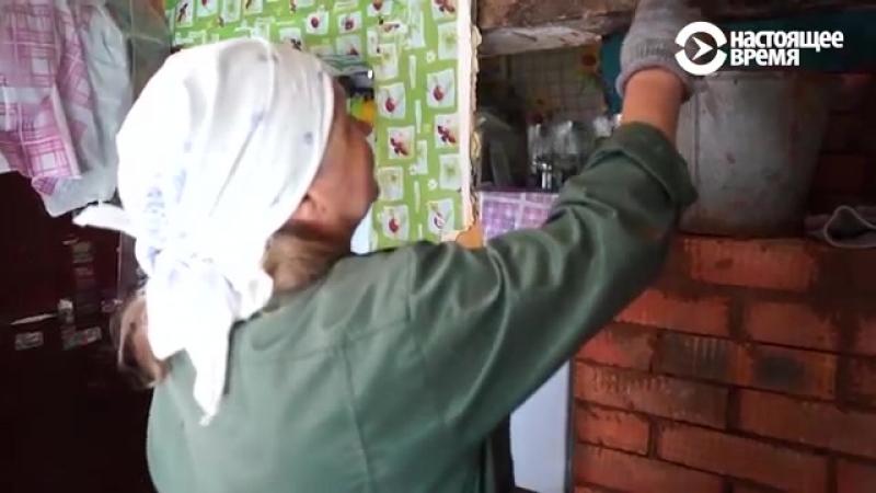 Пенсионерка - строитель печей