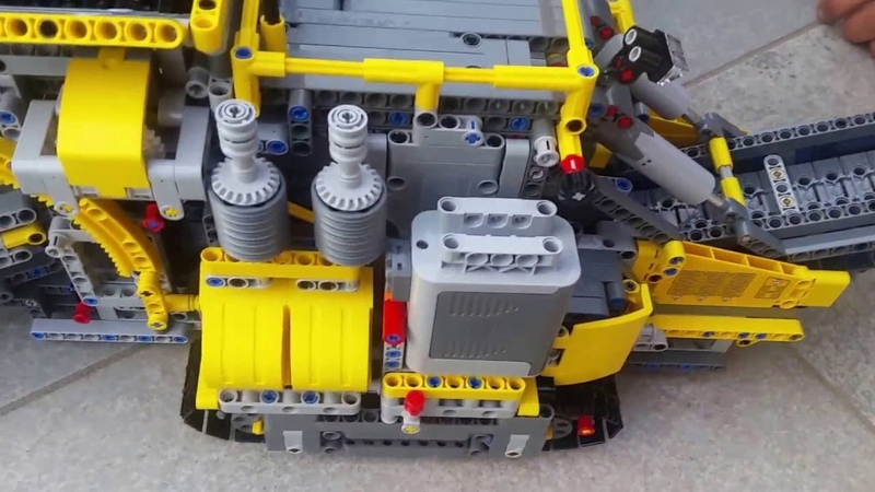 Lego Technic 42055 B-model Mobile Aggregate Processing Plant