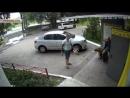 Избиение челябинцем 90-летнего ветерана ВОВ зафиксировала камера наблюдения.mp4