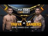 UFC_FN_135 Luke Sanders  vs.  Rani Yahya