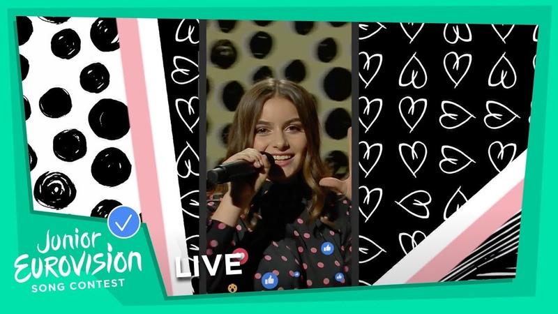 Rita Laranjeira - Gosto De Tudo (Já Nāo Gosto De Nada) - LIVE - Portugal 🇵🇹 - Junior Eurovision 2018
