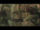 Naked Snake vs. The Boss except with only Tom & Jerry sounds