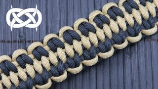 How to make a Solomon's Fossil Paracord Bracelet