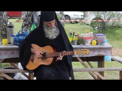 Монах Киприан Бурков на слете Увильды-2017