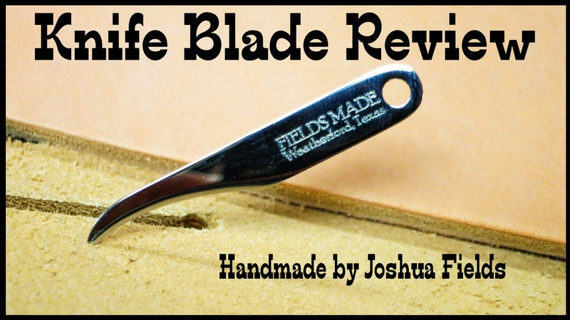 Leather Working: Leather blade review - How to make knife sheaths