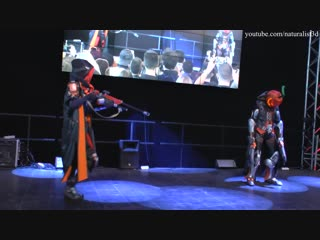 Cosplay Reaper Overwatch - Halloween version _Starcon Halloween 2018_