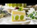 【360度可愛い✨】シャインマスカットケーキ
