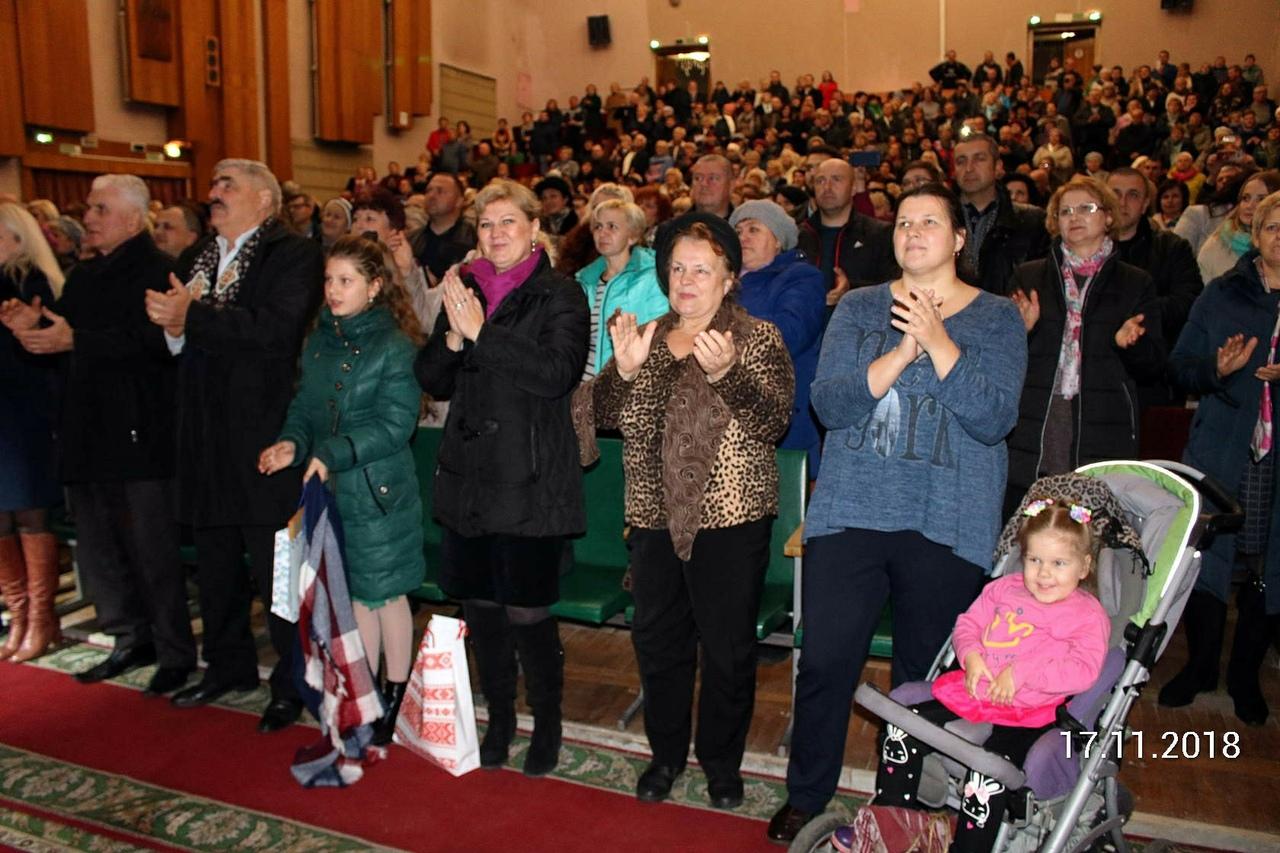 Концерт Шансона памяти Михаила Круга прошёл в г. Пинске