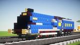 Minecraft LNER A4 Mallard Steam Locomotive Tutorial