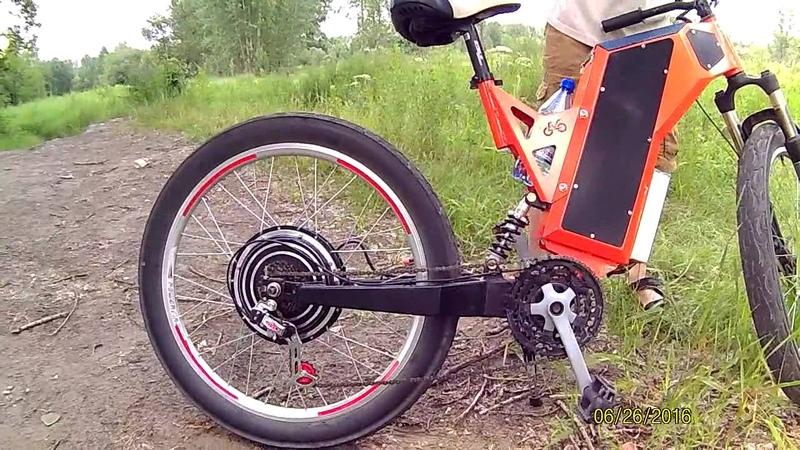 Электровелосипед - Обзор рамы Версия 1.1B