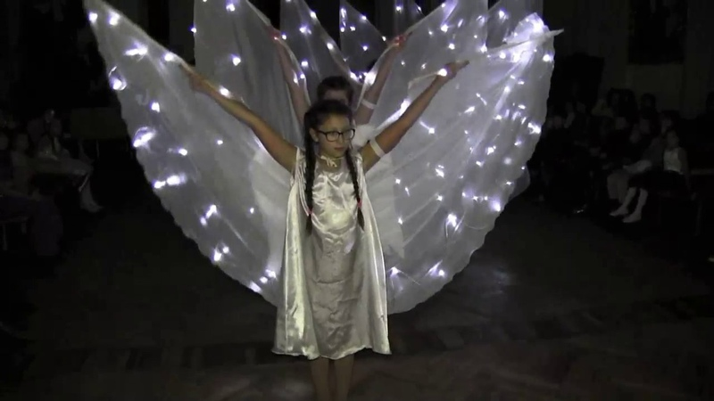 Токмак. Рождественский утренник 2018 г. Танец ангелов