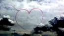 Red Arrows draw a heart in the sky The Great British Grand Prix Silverstone 6th July 2014