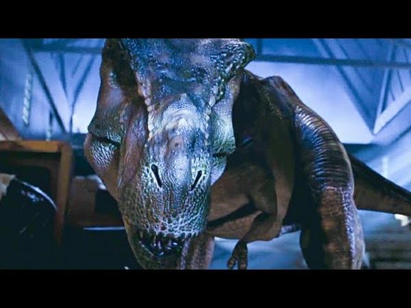 Familia de Tiranossauro Rex / Cena Final | Jurassic Park 2: O Mundo Perdido (1997)