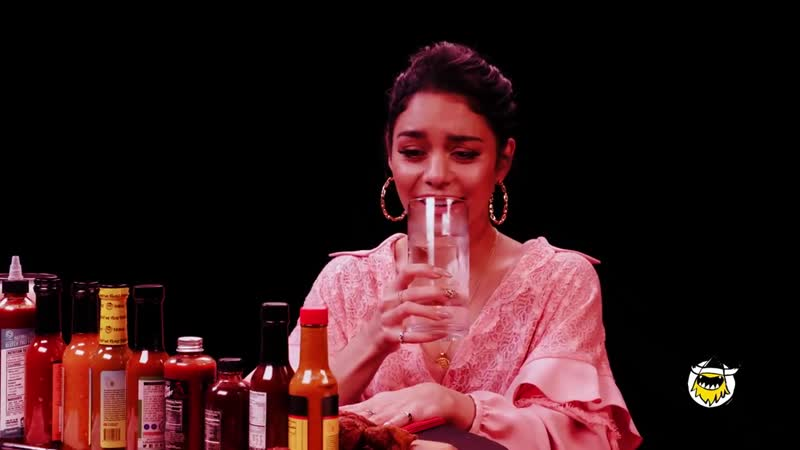 Vanessa Hudgens Does Tongue Twisters While Eating Spicy Wings - Hot Ones