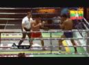 Бирманский бокс хэд-кик, отрывающий от земли. Ah-Ga Golden Belt Champions Challenge Fight.