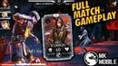 MK11 Scorpion FULL Match Gameplay Character Stats!   Mortal Kombat X Mobile (MK Mobile)