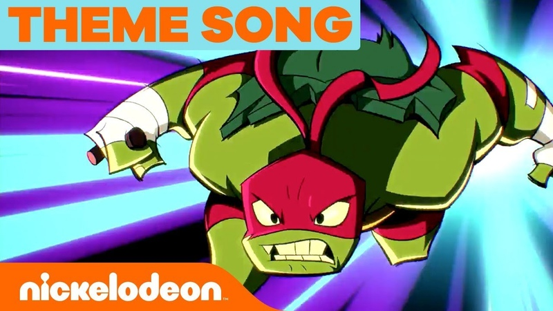 Rise of the Teenage Mutant Ninja Turtles Official NEW SERIES Theme Song 🎵 | Nick
