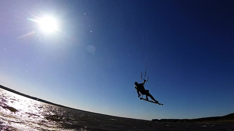 Kiteboarding october 2018