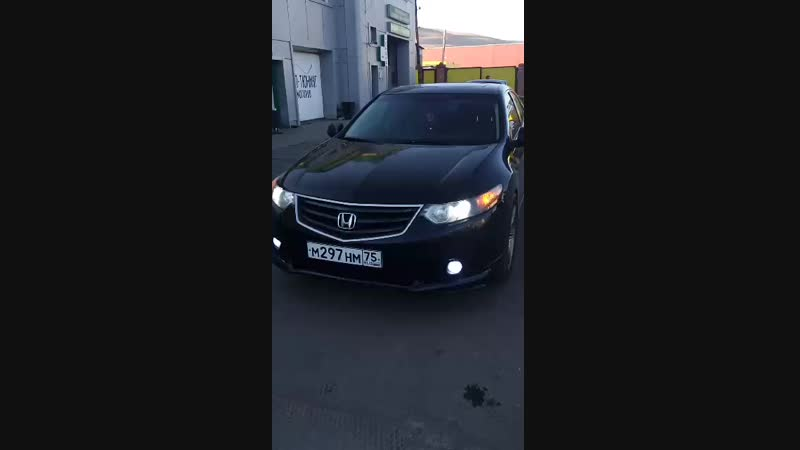 осмотр салона Honda Accord 2008 г.в.