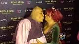 Heidi Klum Dresses As Shrek's Fiona for Halloween Party