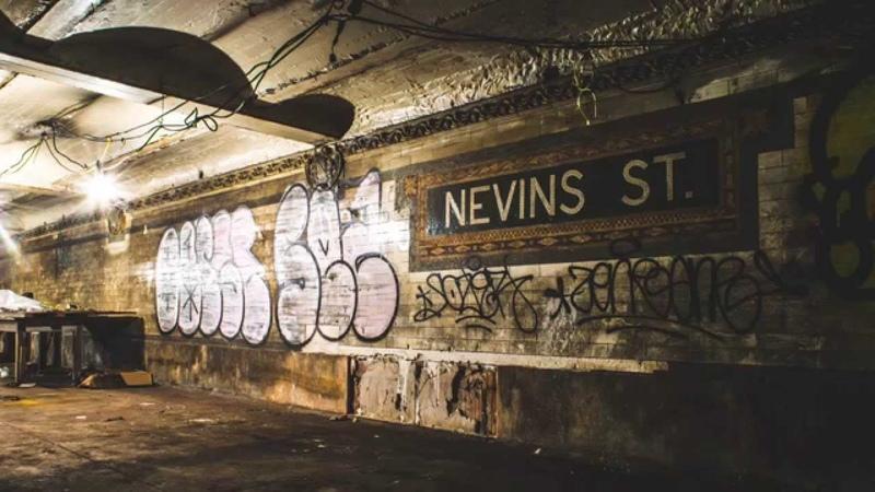 Abandoned Nevins Street Lower Level