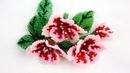 Цветы кирпичным плетением. (Часть 1/3)