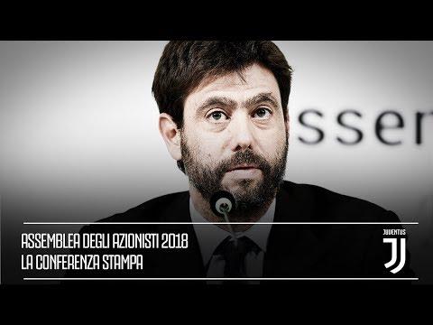 In diretta dall'Allianz Stadium la Conferenza Stampa conclusiva dell'Assemblea degli Azionisti
